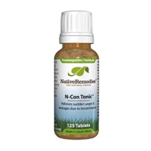 Native Remedies N-Con Tonic , 125 Tablet Bottle