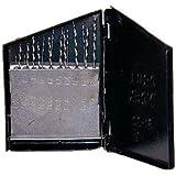 SE - Drill Set - Twist, # 61-80 Metal Box, 20 Pc