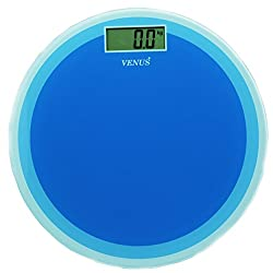 Venus Blue Personal Electronic Digital LCD Weight Machine Body Fitness Weighing Bathroom Scale Weight Machine