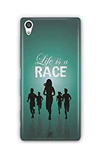 YuBingo Life is a Race Mobile Case Back Cover for Sony Xperia Z5 Plus
