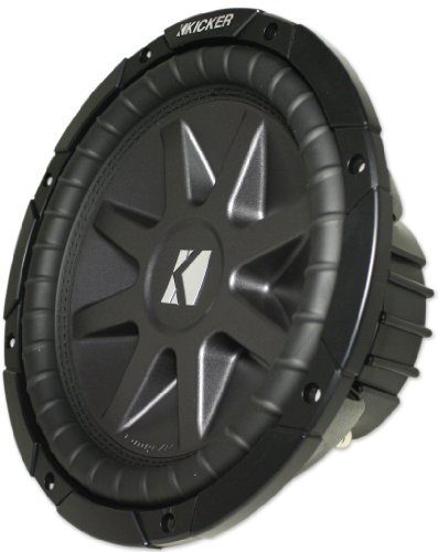 Kicker 10Cvr12-4 2010 Comp Vr Series 12 Inch 4 Ohm Dual Voice Coil 800 Watt Car Subwoofer