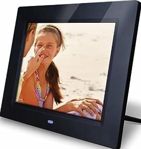 Rollei Pictureline Digitaler Bilderrahmen (21,3 cm (8,4 Zoll) Display, Split Screen) schwarz