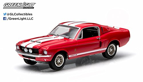 1967-shelby-gt500-candy-apple-red-gl-muscle-series-11-greenlight-collectibles-164-scale-2015-die-cas