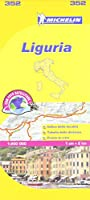 Liguria Michelin Local Map 352 (Michelin Regional Maps)