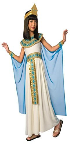 Girls Cleopatra Egyptian Queen Kids Child Fancy Dress Party Halloween Costume