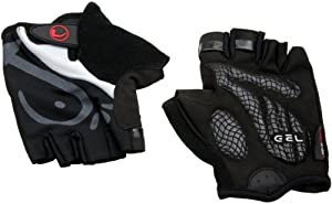 Ultrasport Biking Glove - Black, Medium