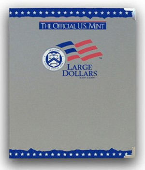 The Official US Mint / Coin Album Large Dollars, Plain - By Whitman