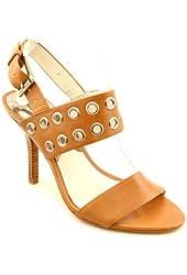Michael Kors Grommet Sandal Size 10 M Luggage Brown
