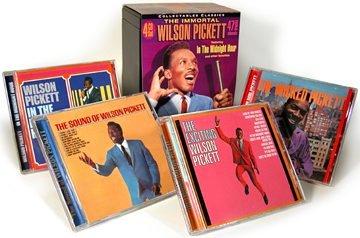 Wilson Pickett - The Immortal Wilson Picket (4-CD Box Set) - Zortam Music