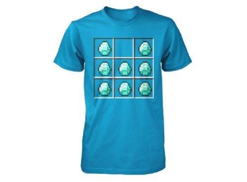 Minecraft Diamond Crafting Youth T-shirt