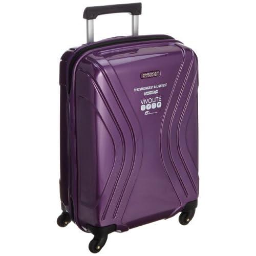 [アメリカンツーリスター] AmericanTourister VIVOLITE  /  ビーボライト スピナー55cm (スーツケース・キャリーケース・トラベルバッグ・機内持込・TSAロック装備・大容量・軽量・ジッパー・ポリプロピレン・保証付)