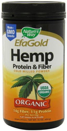 Nature's Way Hemp Protein and Fiber Powder, 16