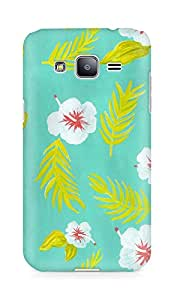 Amez designer printed 3d premium high quality back case cover for Samsung Galaxy J2 (Patten 1)