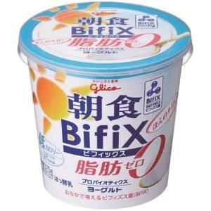 グリコ 朝食BifiX 脂肪0 375g 6個
