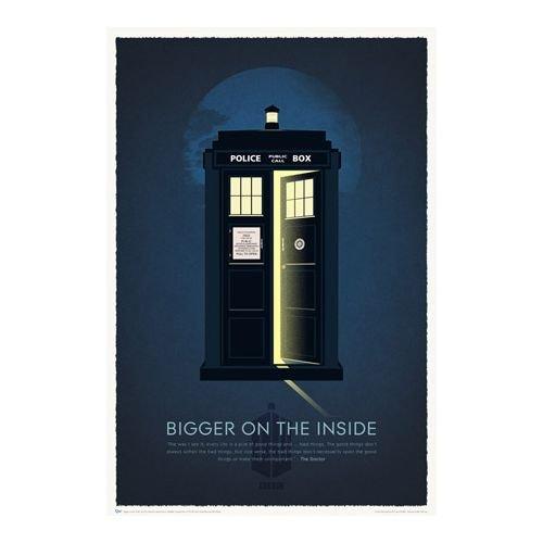 Quantum Mechanix - Poster 50° anniversario Doctor Who