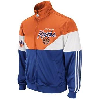 NBA New York Knicks Jam Track Jacket by adidas