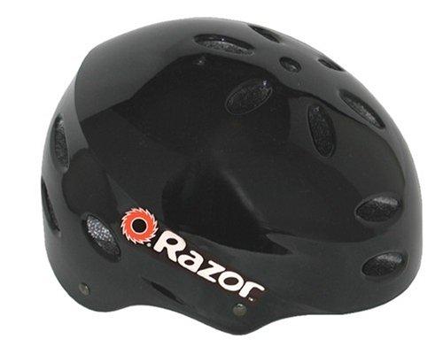 Razor V-17 Child Multi-Sport Helmet (Black Gloss)