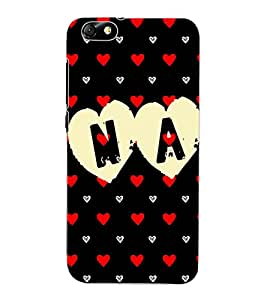 ColourCraft Love Design Back Case Cover for HUAWEI HONOR 4X