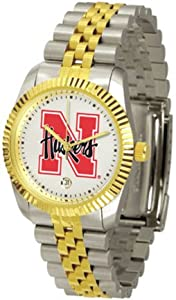Nebraska Cornhuskers The Executive Mens Watch by SunTime