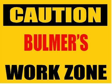 6-caution-bulmer-work-zone-vinyl-decal-bumper-sticker