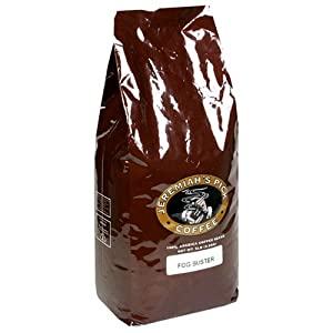 Jeremiah's Pick Coffee Fogbuster Whole Bean Coffee, 5-Pound Bag