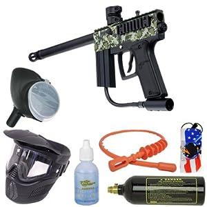 Azodin ATS Bronze Paintball Gun Package - Camo / Black