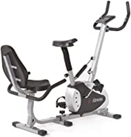 Get JTX Cyclo-2 Combo- 2 in 1 Exercise Bike - Recumbent & Upright In One Compact Design Comparison-image