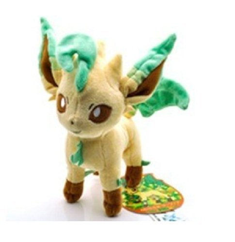 Pokemon-Plush-79-20cm-Leafeon-Character-Doll-Stuffed-Animals-Cute-Soft-Anime-Collection-Toy-by-Latim