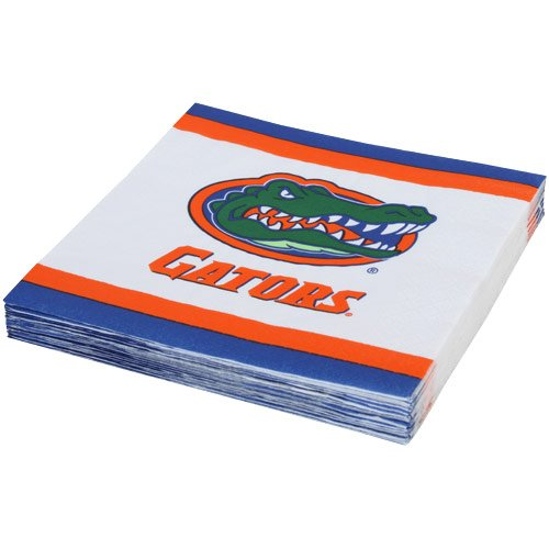 Mayflower Distributing Company 24 Count University of Florida Beverage Napkins, Multicolor