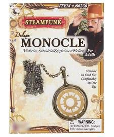 Steampunk Deluxe Gear Monocle