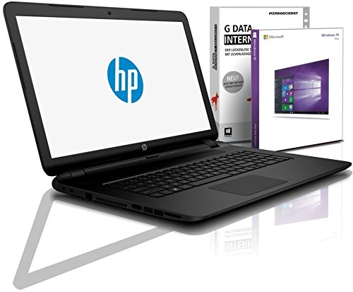 HP Notebook 15,6 Zoll, AMD E2-7110 Quad Core 4x1.80 GHz, 8GB RAM, 750GB HDD, AMD Radeon R2, BT, USB 3.0, WLAN, Win10 Prof. 64 (shinobee-Edition) #5145