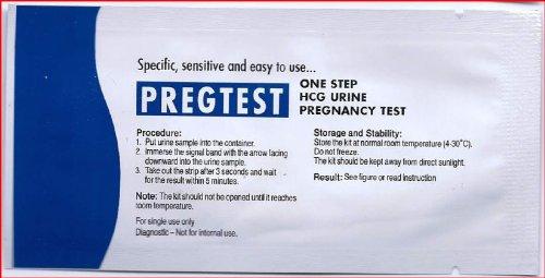 10 x tests pr coces de grossesse en bandelettes 10 miu - Grossesse apres fausse couche precoce ...