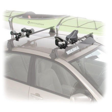 Yakima Mako Saddles Rooftop Kayak Carrier with Straps with Tie-Downs
