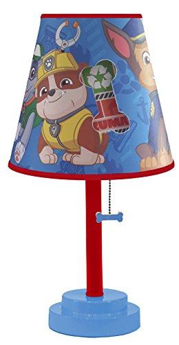 Nickelodeon Paw Patrol Die Cut Table Lamp светильник декоративный 3dlightfx paw patrol rocky mini 3d