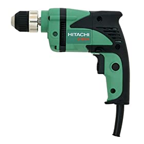 Hitachi D10VH 6 amp 3/8-Inch Drill with Keyless Chuck