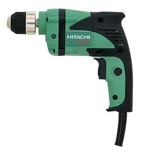 Hitachi D10VH 6 amp 3/8-Inch Drill with Keyless Chuck