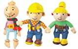 Bob The Builder Set Of Three Beanies