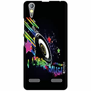 Printland Designer Back Cover for Lenovo A6000 Plus - Loud Case Cover