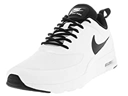 Nike Women\'s Air Max Thea White/Black/White Running Shoe 6 Women US