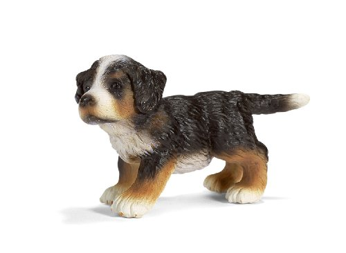 Picture of Schleich Bernese Mountain Dog puppy Figure (B000JKA1JQ) (Schleich Action Figures)