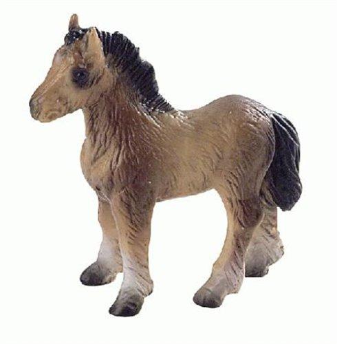 Bullyland Shetland Pony Plastic Toy Figure - 1