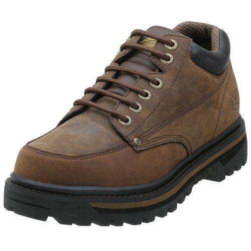 Skechers Men's Mariner Low Boot,Dark Brown, 7 M