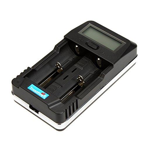 Trustfire TR-011 LCD Digital Intelligent Afficher Chargeur de batterie Chargeur universel avec Port de charge USB pour 18650 14500 26650 et Smartphone