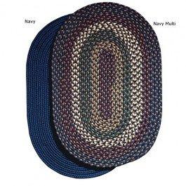 8' Round Heritage Braided Rug Tan Multi 8' Round