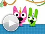 Amazon Gift Card - Email - Hoops and Yoyo Cake Face (Animated) [Hallmark]