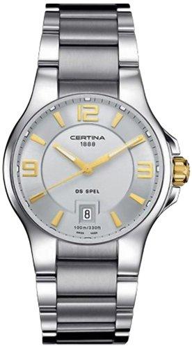 Certina Men's Watch XL Analogue Quartz Stainless Steel C012,410,21,037,00