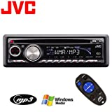JVC Deck with Built-In HD Radio Tuner ~ JVC