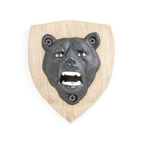 Kikkerland Magnetic Bear Bottle Opener (Wooden Bottle Opener Magnetic compare prices)