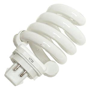 Viva 24719 - PLS 18W 27K LOW PROFILE (VIVA PL 18.50 27K) Twist Pin Base Compact Fluorescent Light Bulb