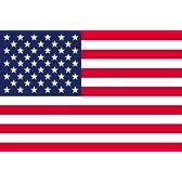 アメリカ 国旗 星条旗[ 卓上旗  国旗 16×24cm 高級テトロン製]